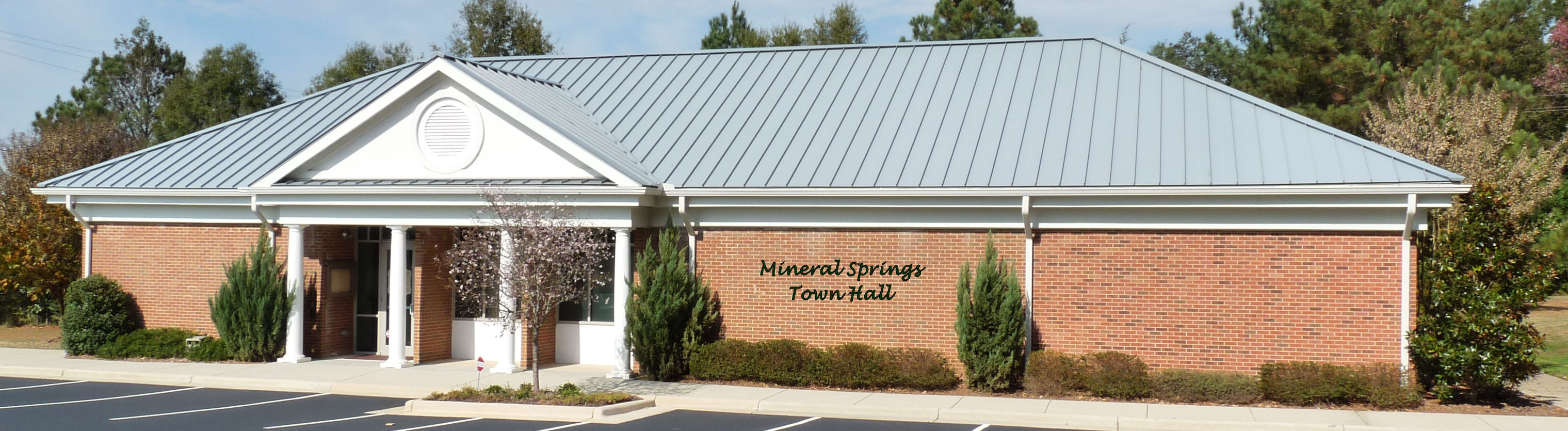 Mineral Springs Town Hall